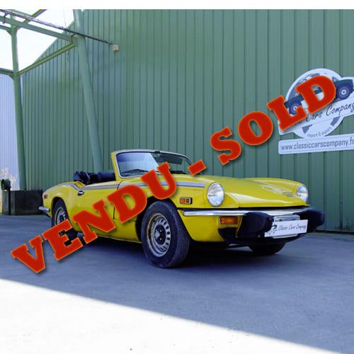 Triump Spitfire 1500 Fh Classic Cars Company