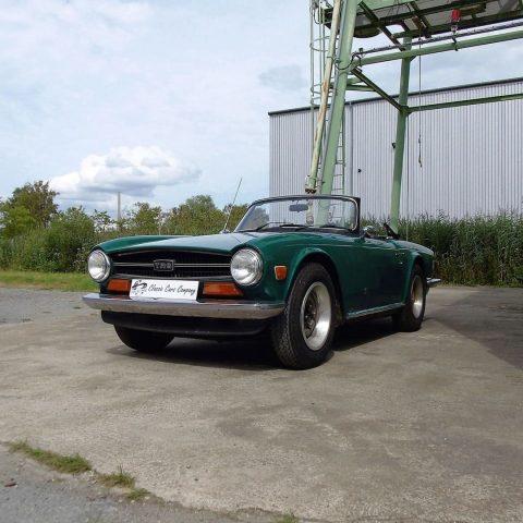 Triumph-TR6-verte