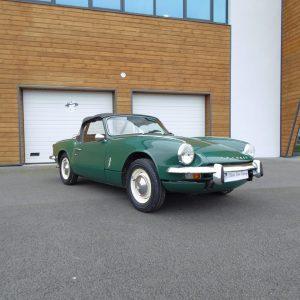 Triumph spitfire mk3 verte cabriolet à vendre