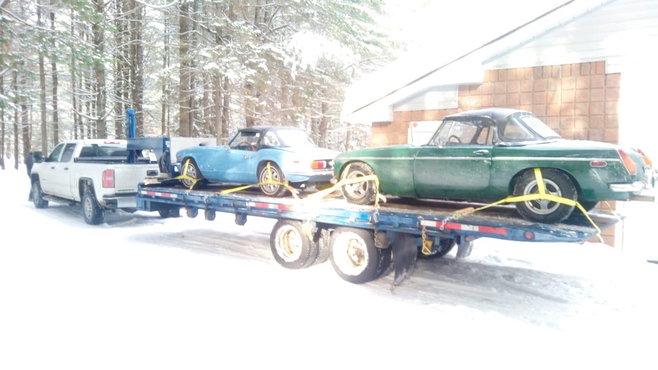 Achat et vente de voitures ancienne - Triump, MG, Morgan, Fiat, Mercedes et autre véhicule ancien