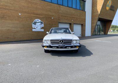Mercedes 560 SL v8 cabriolet 00002