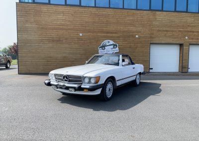 Mercedes 560 SL v8 cabriolet 00003