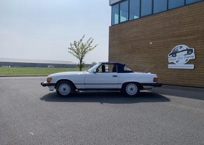 Mercedes 560 SL v8 cabriolet 00004
