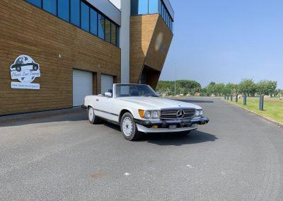 Mercedes 560 SL v8 cabriolet 00010