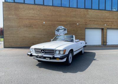 Mercedes 560 SL v8 cabriolet 00011