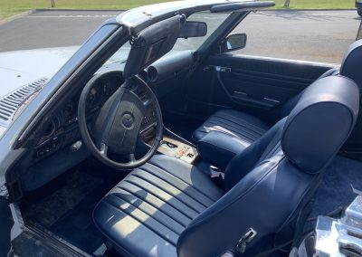 Mercedes 560 SL v8 cabriolet 00014