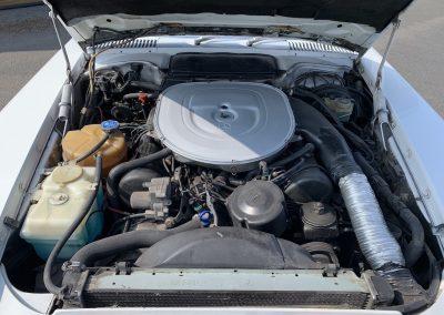 Mercedes 560 SL v8 cabriolet 00016
