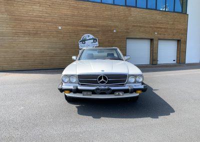 Mercedes 560 SL v8 cabriolet 00017