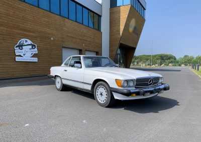 Mercedes 560 SL v8 cabriolet 00018