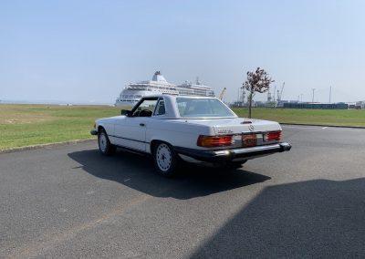 Mercedes 560 SL v8 cabriolet 00022