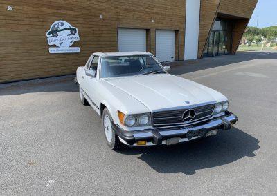 Mercedes 560 SL v8 cabriolet 00023