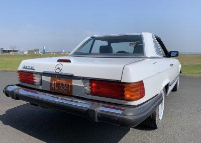 Mercedes 560 SL v8 cabriolet 00024