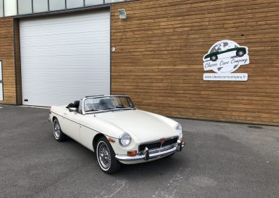 MG MGB cabriolet blanche 00001