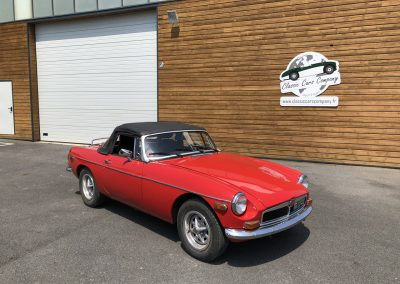 MG MGB cabriolet rouge 00001