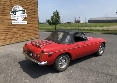 MG MGB cabriolet rouge 00002