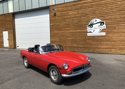 MG MGB cabriolet rouge 00005