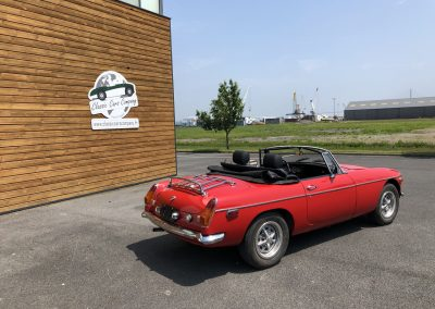 MG MGB cabriolet rouge 00006