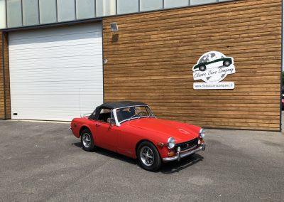 MG MIDGET cabriolet rouge 00001