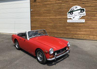 MG MIDGET cabriolet rouge 00003