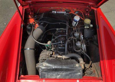 MG MIDGET cabriolet rouge 00007