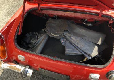 MG MIDGET cabriolet rouge 00010