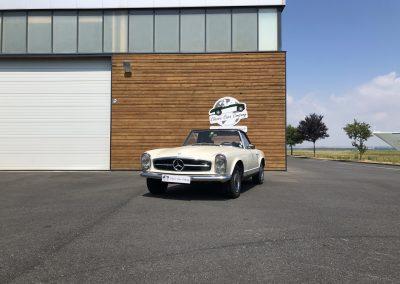Mercedes 230 sl pagod 00013